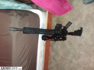 For Sale: Costum built ar 15 223 caliber
