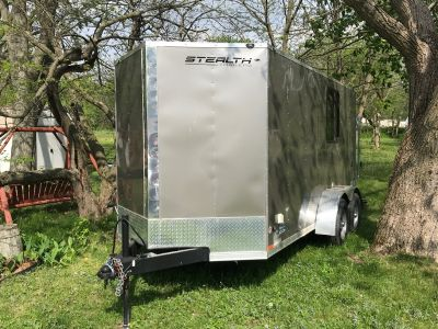 2018 Stealth Titan Trailer - 6x14 Tandem Axle - Lots of Opti