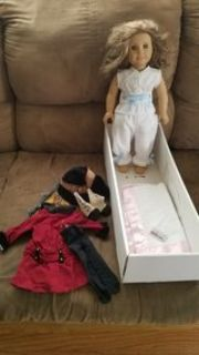 retired American Girl Rebecca Doll, cross posted, north riverside