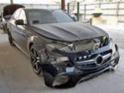 Salvage 2018 MERCEDES-BENZ E 63 AMG-S for Sale