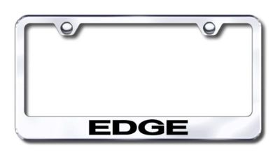 Buy Ford Edge Engraved Chrome License Plate Frame -Metal Made in USA Genuine motorcycle in San Tan Valley, Arizona, US, for US $30.98