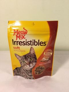 Meow mix irresistible s soft chicken cat treats