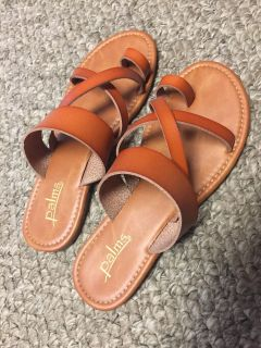 Sandals size 7 brand new condition worn a few times very cute!