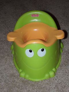 Fisher Price toddler training frog potty
