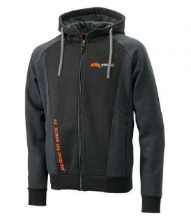 Sell SHIPS SAME DAY! - KTM Motorcycles Men's Mechanic Zip-Up Black Hoodie 3PW155590 motorcycle in Seattle, Washington, United States, for US $68.00