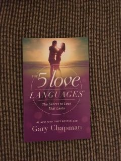 5 Love Languages Book by Gary Chapman #1 New York Times Best Seller Swap Only