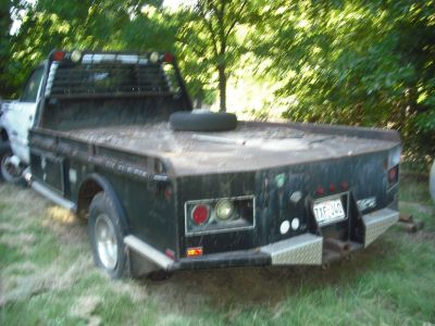 Flat Bed for dually/ 11' long