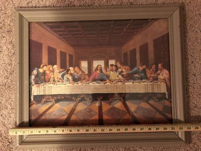 Lords supper 19.5 x23.5