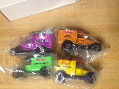 Matchbox - Kelloggs Delivery trucks (set of 4)