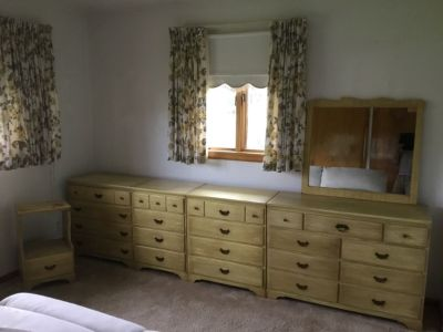 Five Piece  Bedroom Dresser Set