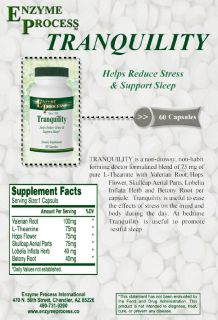 Tranquility Herbal Blend - For Anxiety & Stress