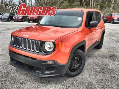 2017 Jeep Renegade Sport (Omaha Orange)