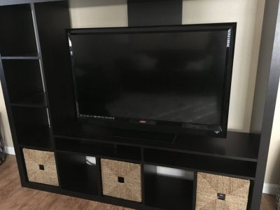 Entertainment Center-espresso