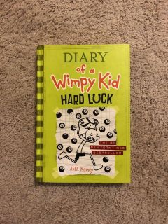 Hardcover - Diary of a Wimpy Kid Hard Luck