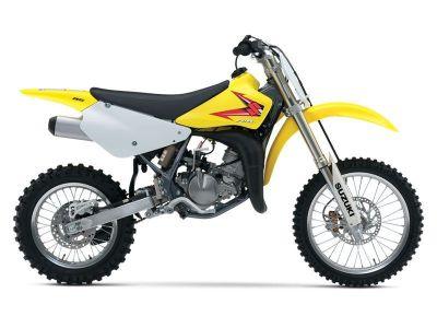 2015 Suzuki Motor of America Inc. RM85 Motocross Motorcycles Winterset, IA