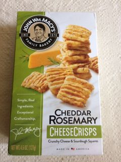 3 of 3 Cheddar Rosemary Cheese Crisps