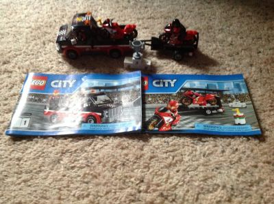 LEGO City #60084 Great Vehicles Racing Bike Transporter
