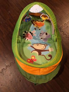 Chico portable infant play mat. Like new