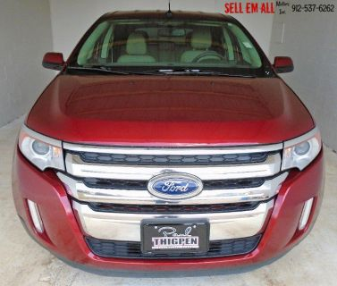 2014 Ford Edge SEL (Red)