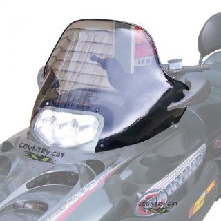 Find Arctic Cat Clear Windshield with Mirror Holes 2000-2008 Z ZL ZR MC BC - 2606-366 motorcycle in Sauk Centre, Minnesota, United States, for US $134.95