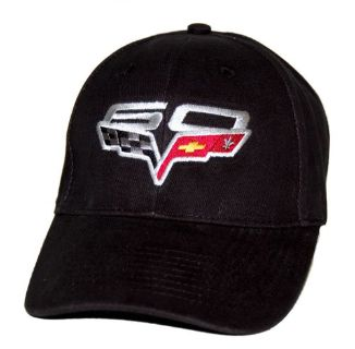 Buy 2013 Chevrolet Corvette C6 60th Anniversary Black Hat Cap SHIPPED IN A BOX - motorcycle in Sacramento, California, United States, for US $22.99