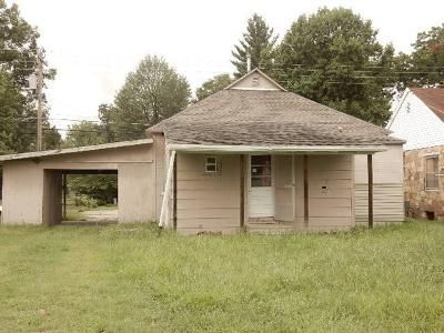 2 Bed 1 Bath Foreclosure Property in Metropolis, IL 62960 - North Ave