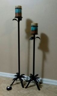 FLOOR CANDLE STANDS/HOLDERS........EXCELLENT CONDITION