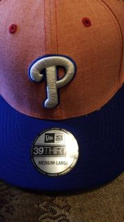 Phillies Fitted Hat - Brand New