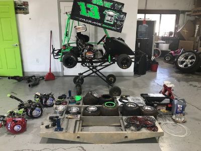 2018 Winged Outlaw Kart