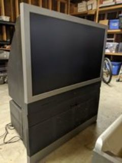40in HD tv with stand