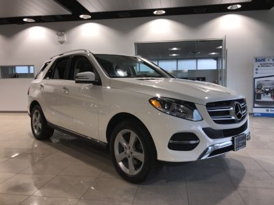 2016 Mercedes-Benz M-Class ML350 4MATIC (Polar White)