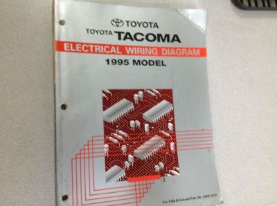 Purchase 1995 Toyota Tacoma Electrical Wiring Diagrams Troubleshooting Service Manual EWD motorcycle in Sterling Heights, Michigan, United States, for US $39.95
