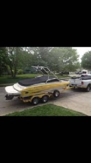 2005 Glastron Wakeboard Boat and Trailer