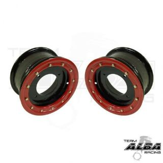 Sell TRX 450R, 400EX 300EX Front Wheels Beadlock 10x5 3+2 4/144 Alba Racing B/R motorcycle in Santee, California, United States, for US $160.00