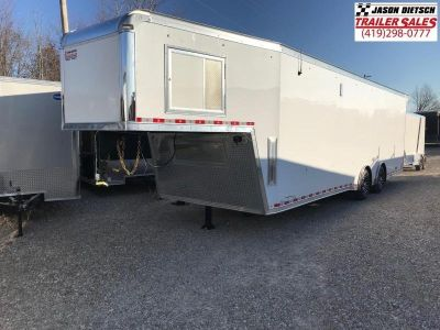 2019 United Trailers USHGN 8.5X36 Car / Racing Trailer STOC