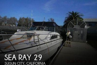 1979 Sea Ray SRV 300 Express Cruiser