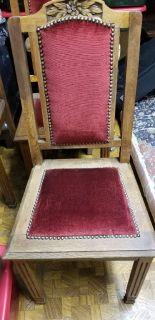 Antique custom refinished chairs