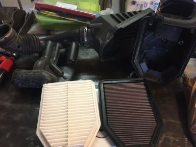 2013 jeep OEM air intake
