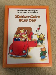 NEW Richard Scarry s Busy Day Storybooks-Mother Cat s Busy Day book