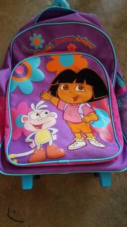 Dora backpack with handle and wheels!