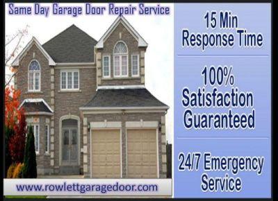Commercial Garage Door Repair Company Rowlett, TX
