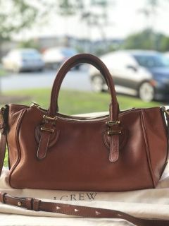 J. Crew Teddy Bag