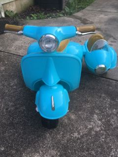 6v Kid Trax Scooter with Side Car