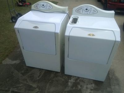 Maytag Neptue Front Load Washer and Dryer Set