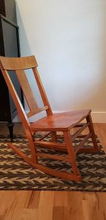 BirdsEye Maple Rocking Chair PPU