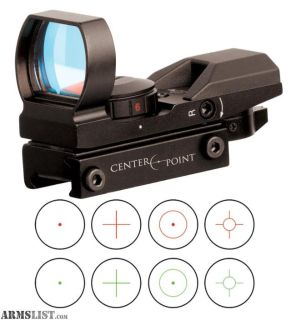 For Sale: CenterPoint Tactical Open Reflex Sight