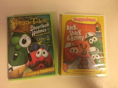 Veggie Tales DVD s set of two