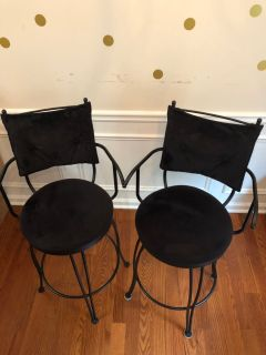 Rod Iron Barstools