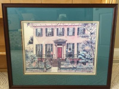 (FOUNDER OF GIRL SCOUTS) Home of Juliet Gordon Lowe in Savannah, GA -