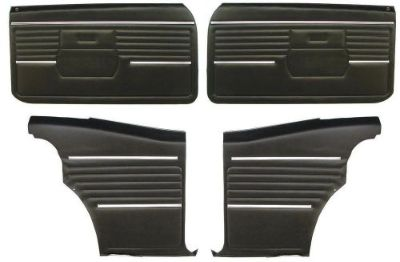 Purchase 1968 CAMARO DOOR PANEL KIT 68 FRONT & REARS motorcycle in Bryant, Alabama, United States, for US $299.95